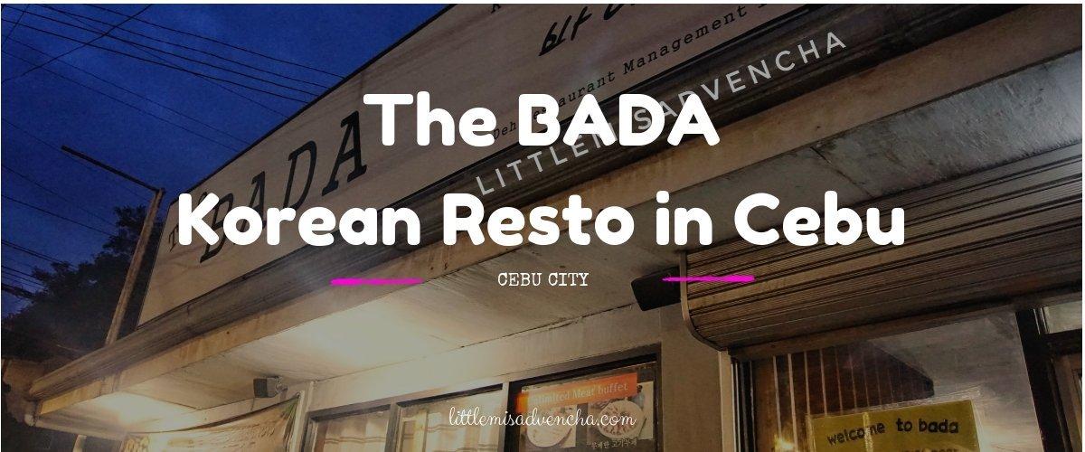 The Bada Korean Restaurant in Cebu