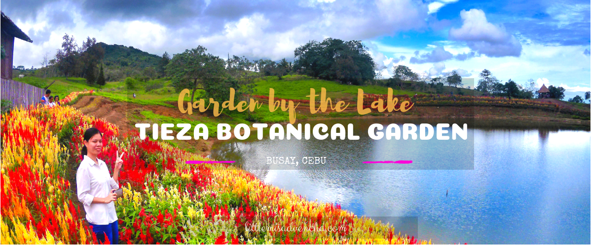 Tieza Botanical Garden: Flower Garden by Lake Malubog