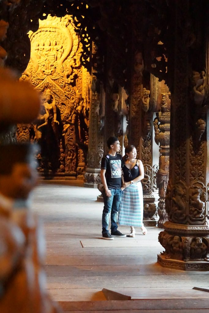 Sanctuary of Truth in Pattaya Thailand