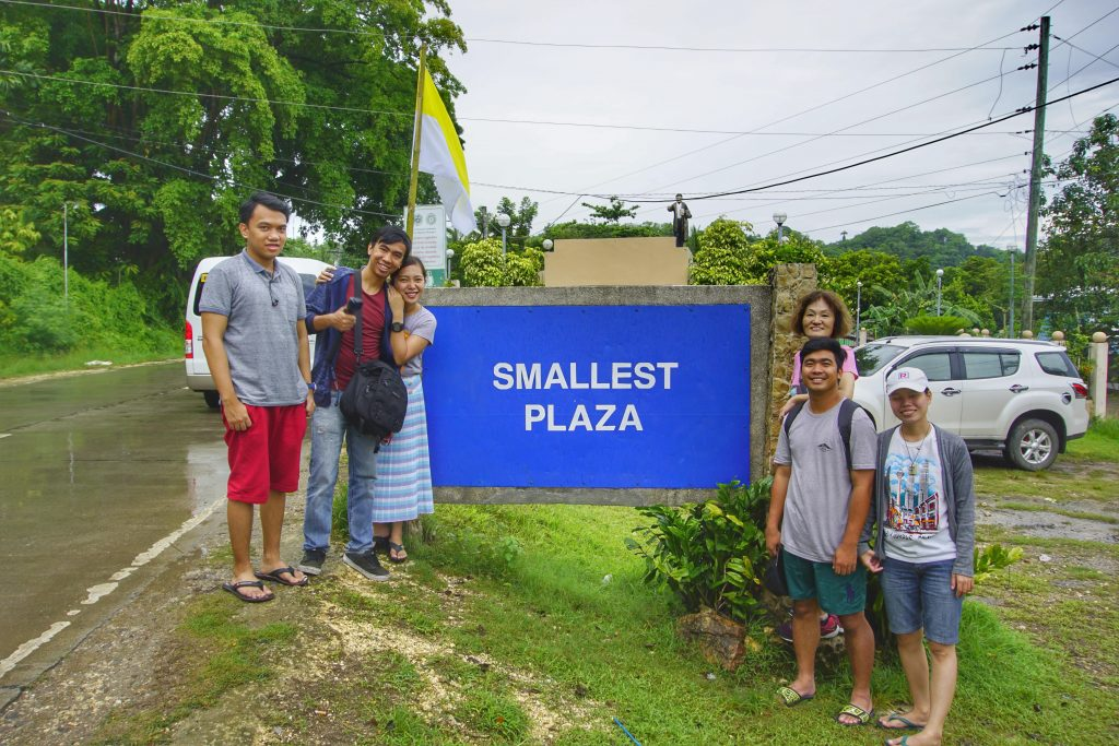Smallest Plaza in Guimaras Island