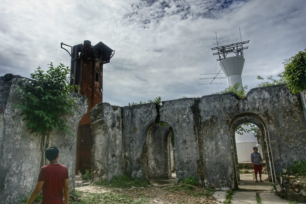 Guisi Lighthouse Ruins in Guimaras Island