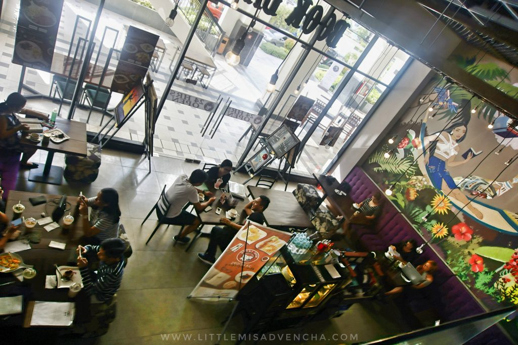 Book Latte Cafe in Megaworld Iloilo