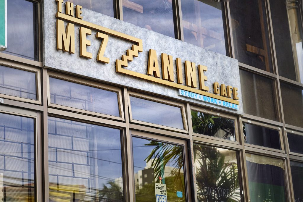 The Mezzanine Cafe in Cebu