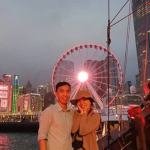 The Proposal Aboard the Aqua Luna Cruising the Victoria Harbour